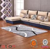 滑り止めの床のカーペット柔らかくシャギーな領域敷物をカスタマイズしなさい