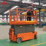 Scissor la elevación vertical de la plataforma de la plataforma de la elevación