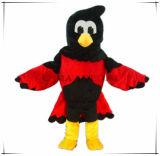 Mascote completamente bonita da coruja feito-à-medida