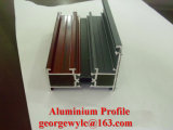 PVC, PA66, la chaleur bloquant le profil en aluminium de profil en aluminium d'extrusion de pièce d'isolation pour le Module de porte de guichet