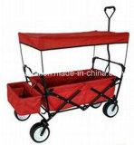Quatro rodas úteis do PVC que dobram o vagão (TC2015-1)