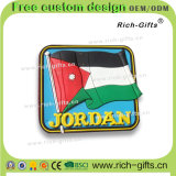 Magneti personalizzati del frigorifero del PVC dei regali di promozione come ricordo Giordano (RC-JN)