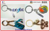 Мягкие Keyrings Keychains Palted мычки эмали