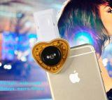 La mejor lente del clip 3in1 180degrees Fisheye del alto rendimiento del precio + lente granangular de +Macro