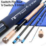 Venta al por mayor 11FT de fibra de carbono Fly Fishing Pole Rod