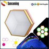 220 Volt RGB 3D Painel Decoração LED Luz de teto