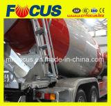 Mezclador concreto ampliamente utilizado del carro 10cbm con Hinochassis