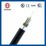 Base de fibra óptica acorazada al aire libre G Y F T a del cable 192 para la aplicación aérea del conducto