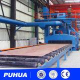 鋼板ショットブラスト機械建設用機器