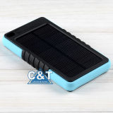 10000mA Waterproof Portable Power Bank Solar Charger für iPhone