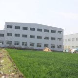 Magazzino prefabbricato della costruzione della struttura d'acciaio