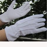 Van het Katoenen van 100% van de Katoenen Bleekmiddel van Handschoenen de Handschoen van het Werk Handschoenen van de Parade