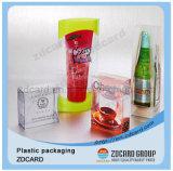 Коробки пластичного вина PVC/Pet/PP упаковывая