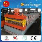 Formación automática completa del rodillo de la azotea del doble del metal de Hky hecha a máquina en China