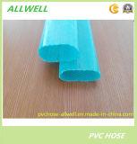 PVC 플라스틱에 의하여 놓이는 편평한 호스 유연한 물 관개 정원 관 호스