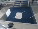5-7 أشخاص زورق بحريّة زورق ألومنيوم زورق ألومنيوم زورق لأنّ صيد سمك [هيغقوليتي] في بحر كبير