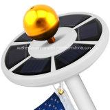 lâmpada de pólo da bandeira luz branca/amarela de 26LED