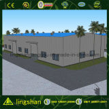 Almacén de almacenaje prefabricado de la galvanización de la estructura de acero (LS-SS-092)