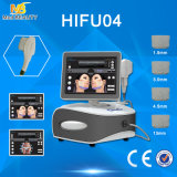 Máquina de Hifu del precio de la promoción para el retiro antienvejecedor de la arruga de la elevación de cara