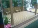 Niedrige Kosten zurückführbarer hölzerner Plasitic zusammengesetzter Decking für Garten-Fußboden