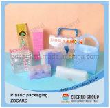 習慣によって印刷される明確な透過プラスチック包装ボックス
