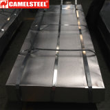 Dx51d Z120 PPGI a enduit la feuille d'une première couche de peinture en acier ondulée galvanisée de toiture