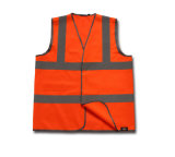 Veste reflexiva feita sob encomenda da construção do saneamento da segurança da roupa do passeio da motocicleta da venda quente