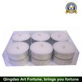 Maschinell hergestellte weiße Wachs 12g Tealight Kerze für Hauptdekoration