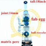 卸し売りStrightの管オイルの軽打の装備の再資源業者のガラス配水管のガラス煙る管
