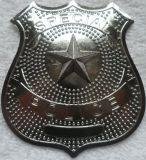 背部Pinのユニフォームのための金属の警備員のバッジ