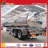 Del veicolo utilitario di alluminio della lega 2axles del serbatoio dell'autocisterna rimorchio di olio combustibile leggero semi