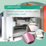Fuerte resistencia al desgarro de papel sintético Prueba con la impresión offset