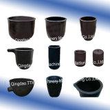 Creusets pour le creuset de fonte de Graphie de creuset de sic de platine