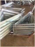 Brides latérales galvanisées pour des échafaudages de système de bâtis