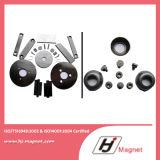 Starker kundenspezifischer Magnet des Ring-N52 mit Qualitäts-Herstellungsverfahren