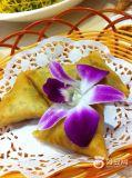 Roulis congelé fabriqué à la main d'oeufs de triangle du légume 15g/Pieces frais de 100%