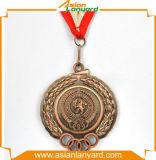 Медаль конструкции клиента золотистое люкс