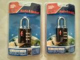 Tsaの安全な空の荷物番号Lock&旅行袋のパッドロック