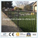 Безуходная загородка заднего двора загородки металла искусствоа