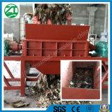 Desfibradora doble del eje para la basura de hogar/la basura de la cocina/el neumático comercial/la basura sólida/la espuma municipales