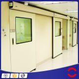 Sauberer Raum-Tür mit Edelstahl