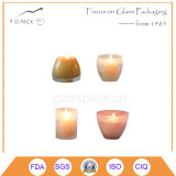 Miniglaskerze-Halter, Glastisch-Lampe