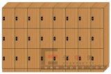 Phenolic Garderobe HPL voor de Kleedkamer van de Sauna