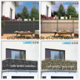 100%UV Resistance, Windproof, Ral1015 0.75m*6m pvc Balcony Cover Fence