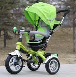 새로운 대중적인 작풍 조정가능한 시트 안전 아기 세발자전거 인도 (OKM-651)