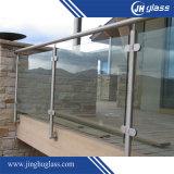 verre trempé d'espace libre de 3-19mm pour la construction
