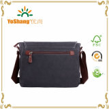 iPad Bag Bookbag Satchel School Bag College Bag Purse Daypack di Bag del computer portatile di Messenger Bag Shoulder Bag della tela di canapa