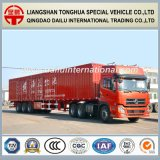 rimorchio del camion di 13meters 3-Axle Straight Beam Van Type Semi-Trailer