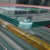 vidro Tempered do espaço livre do encosto de 12mm com borda Polished