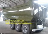 Hydraulischer Typ 25m3 U-Form Hochleistungskipper-Schlussteil-Kipper-halb Schlussteil